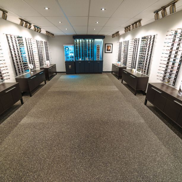 Wide selection of eyewear
